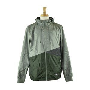 Under Armour Track Jackets LG Green